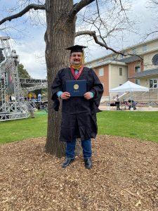 Rene Martinez graduates